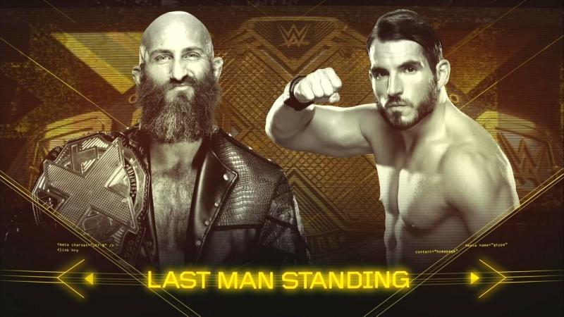Tommaso Ciampa vs Johnny Gargano - NXT TakeOver Brooklyn IV - NXT Championship - Last Man Standing