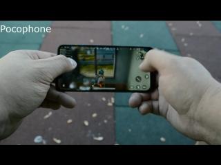 сравнение Pocophone f1  и Xiaomi mi8