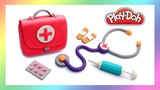 How to Make First Aid Kid Toy. Play Doh Doctor. DIY Tutorial for Kids. Doll First Aid Kit