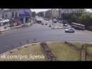 Драка на дороге в Липецке