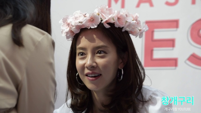 송지효(宋智孝, Song Ji Hyo) 배우의 역대급 사인회(Fan signing Event) 직캠(Fancam)