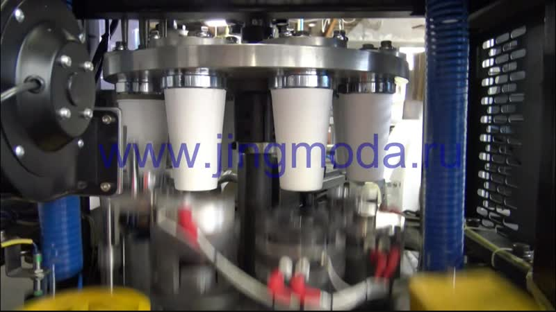 Станок для производства бумажных стаканчиков JMD-160D, 450мл
