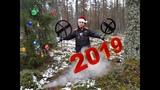 Последний коп в 2018.Утюжим зимний лес с XP Deus