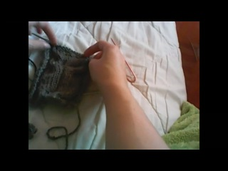 Узор Красивая сова Видеоурок Вязание спицами