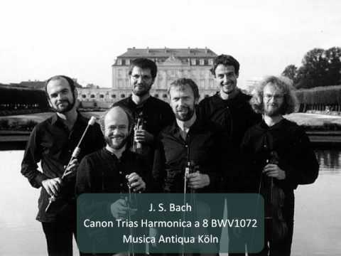 J. S. Bach - Canon Trias Harmonica a 8 BWV 1072