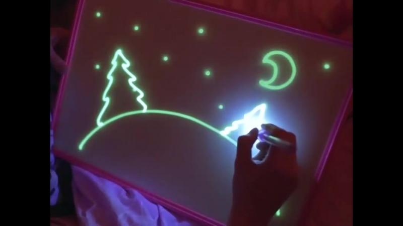 Супер подарок для ребенка Рисование светом