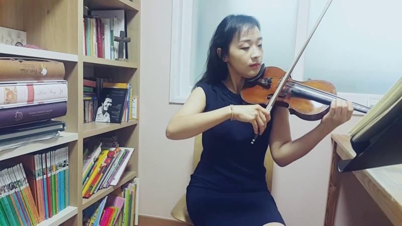 엘가 사랑의 인사 바이올린 연주 바이올린강사 김민정_바이올린배우기_바51060