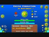 Geometry Dash-Digital Corruption By Shatt3rium