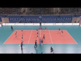 HIGHLIGHTS. Динамо-Казань - Уралочка Суперлига 2017-18. 1-2 финала. Женщины