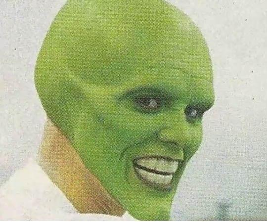 Фотографии процесса рождения героя фильма «Маска».