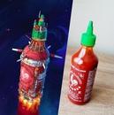 Художник Эрик Геш превращает самые обычные и скучные предметы в фантастические космические…