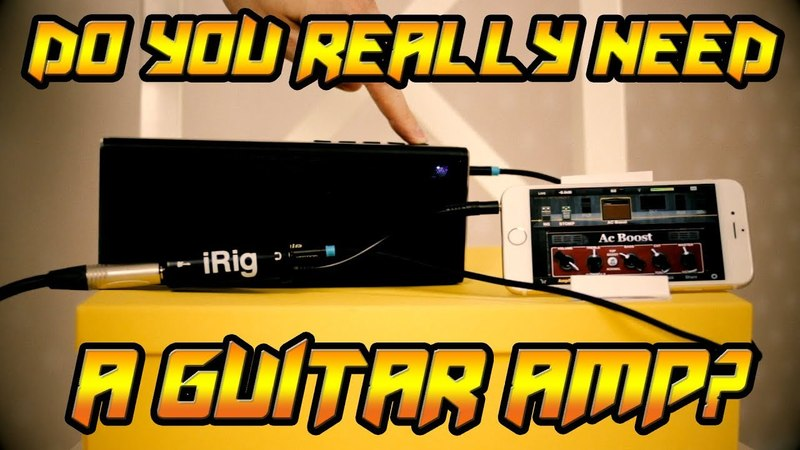 IRig and a Portable Speaker (metal demo)