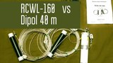 Сравнение многодиапазонной антенны Радиал RCWL-160 и простого диполя на 40м. Радиосвязь на КВ.
