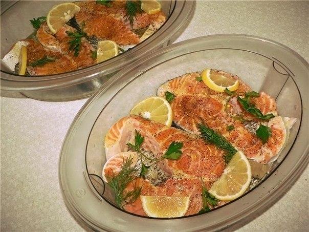 Рецепты из форели для пароварки