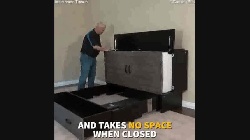 Оптимус Прайм мира мебели. Кроватетумба? Тумбокровать?