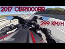 2017 CBR 1000RR in Action