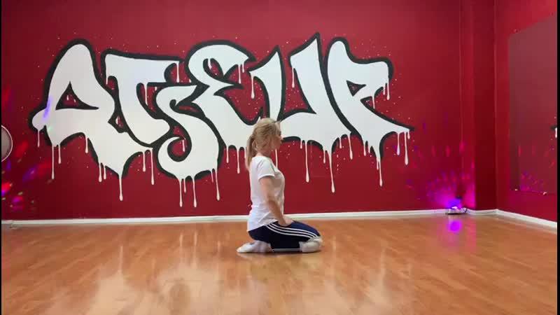 вся такая в белом strip Евгения Ерешко школа танцев RISE UP