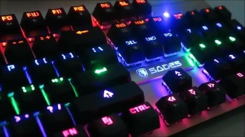 Обзор клавиатуры Sades k10