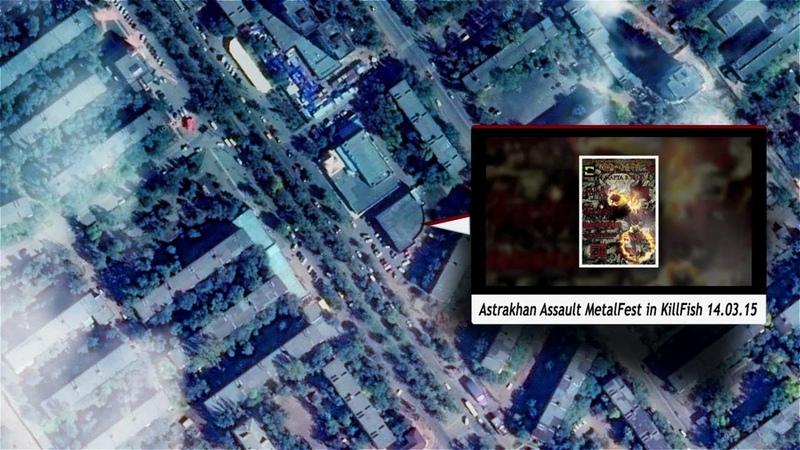 Corvus Lives Again Live in Astrakhan Assault MetalFest in KillFish 14.03.15