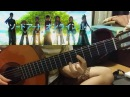 「COURAGE」 戸松遥 (Haruka Tomatsu) - Sword Art Online II OP2 (fingerstyle guitar)