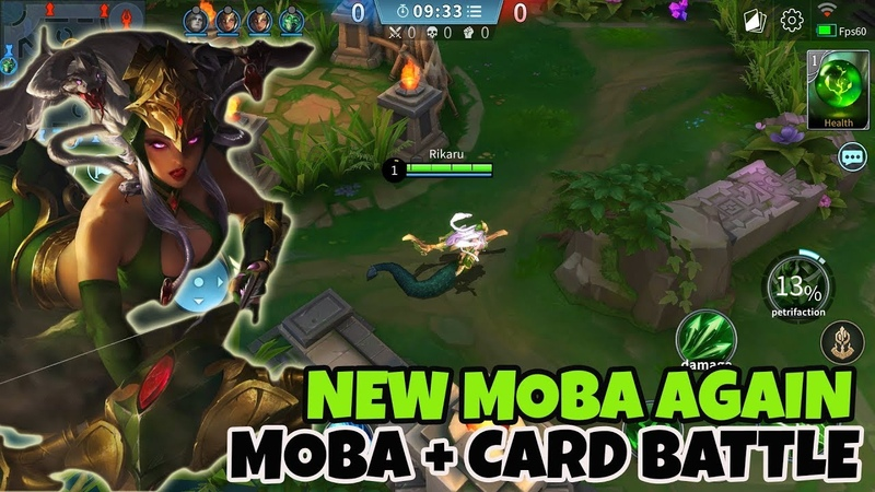 NEW MOBA ENGLISH! LEGEND OF ACE Android Gameplay Mantap broo!