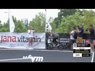 Konstantin Andreev - 1st Semi Final UCI BMX FREESTYLE PARK WORLD CUP - FISE BUDAPEST 2017