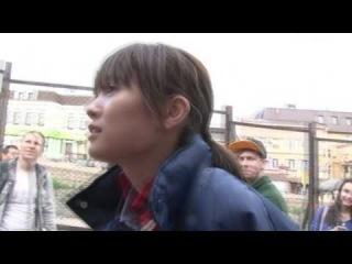 Maeda Atsuko trying to speak in Russian