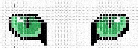 Схема как плести фенечки по клеточкам