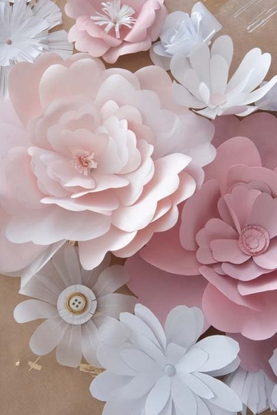 Цветы из бумаги (8 фото) - картинка