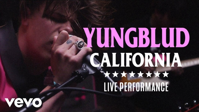 YUNGBLUD - California Official Performance | Vevo