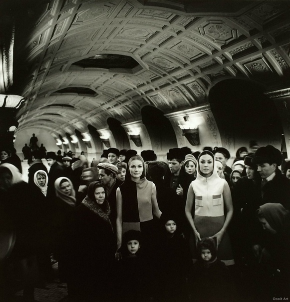 Московское метро, СССР, 1965 г.