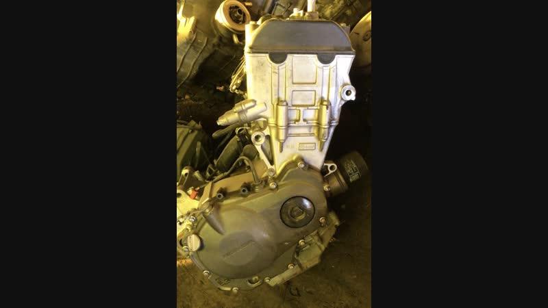 Проверка контрактного двигателя Honda CBR954RR (SC50E) перед отправкой клиенту | motod.ru