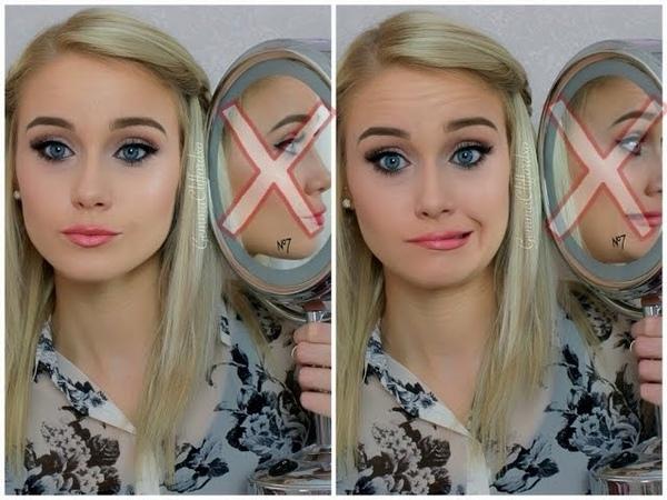 The No Mirror Makeup Challenge! | Gemma Clifford