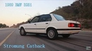 1989 BMW E30 325i Stromung Catback Exhaust