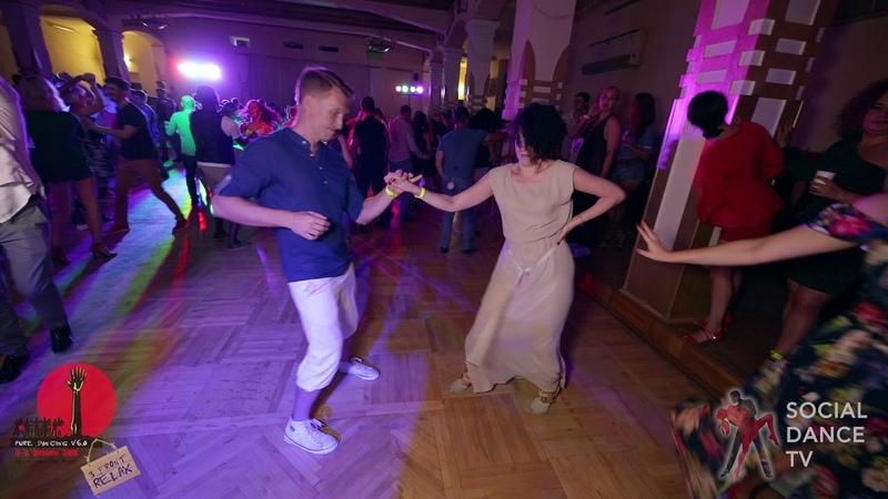 Stanislav Anna - Salsa social dancing at the 2018 The Third Front Salsa Festival