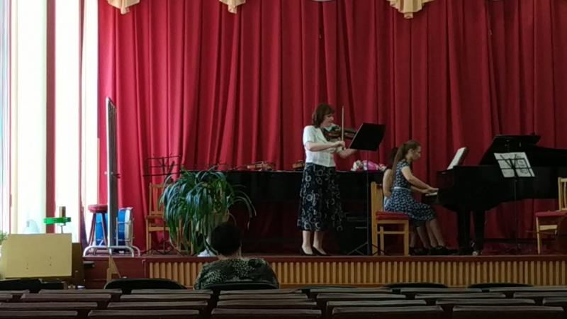 Э.Григ Соната 2 для скрипки и фортепиано