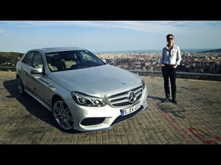 Mercedes-Benz TV: Torie test drives the new E-Class with Intelligent Drive