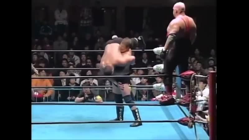 1998.11.30 - Stan Hansen/Vader vs. Bart Gunn/Johnny Ace [FINISH]