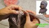 Вяжем зимнюю шапку - ушанку крючком. Первая часть вязаниедонышка (макушки) шапки - ушанки
