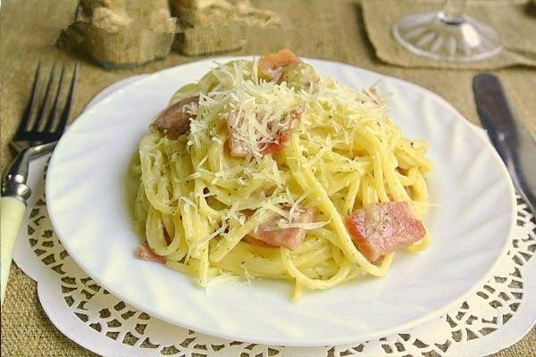 Классическая паста Карбонара