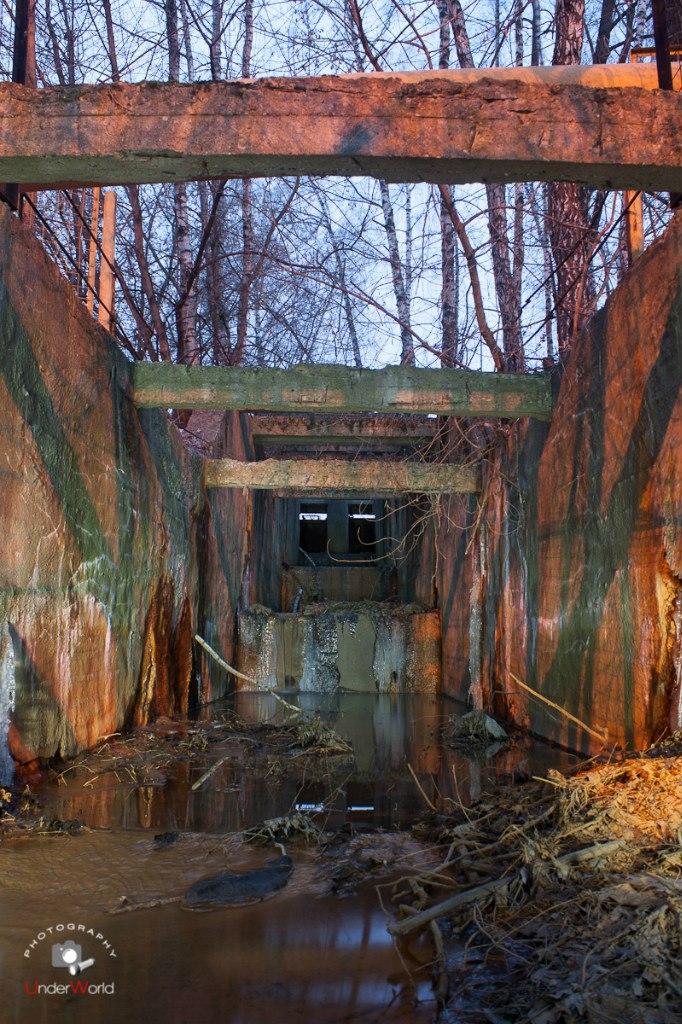 Коллектор подземной реки