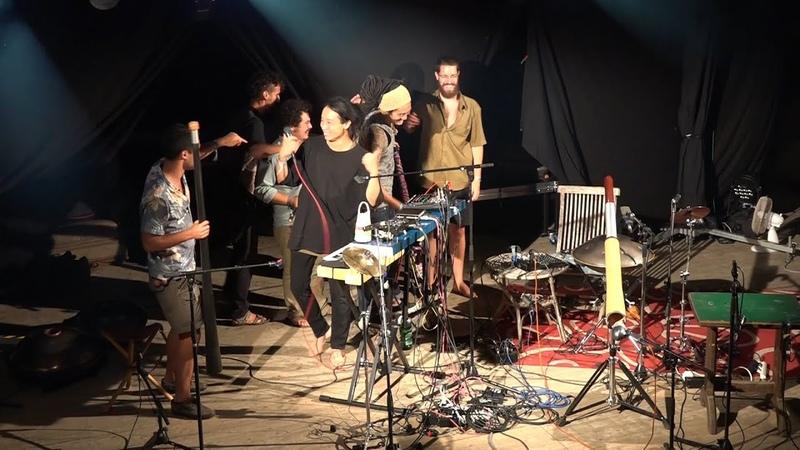 Matsumoto Zoku Khayalan @ GRIASDI 2018 - Handpan World Music Festival