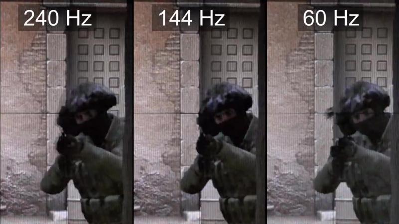 240Hz vs 144Hz vs 60Hz - CS-GO