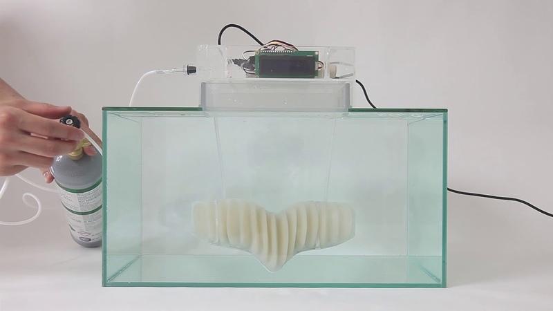 Jun Kamei's amphibious garment could enable humans to breathe underwater