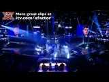 Aiden Grimshaw sings Diamonds are Forever - The X Factor Live show 3 - itv.comxfactor