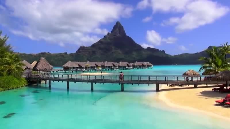 БОРА-БОРА, Французская Полинезия. отель InterContinental Bora Bora Resort Thalasso Spa