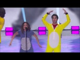 Lucy Hale & Darren Criss twerking || TCA 2013