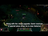 Garen,Darius And Katarina Special Interactions League Of Legends