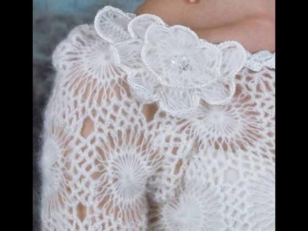 Bellos Chal tejidos acrochet