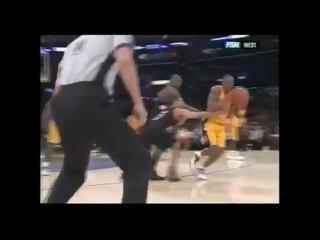 #Kobe #Hits #Half #Court #Shot